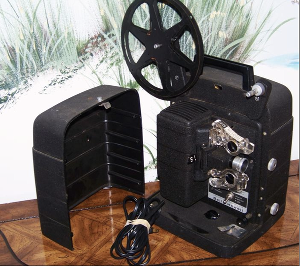 Bell&Howell 256 8mm projector c.1965