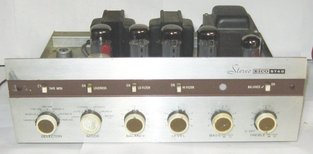 Eico amplifier